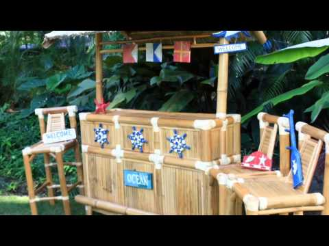 Bamboo tiki bar: Sip Your Mai Tai Hawaiian Style!