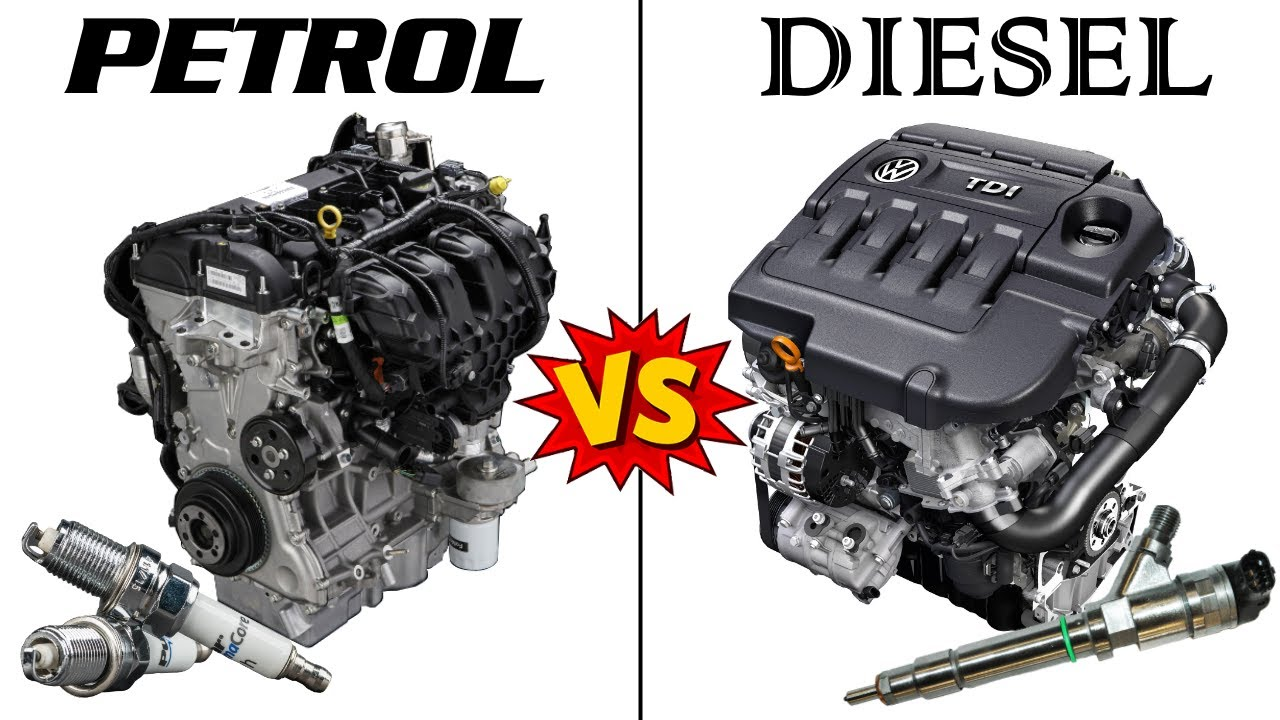 PETROL vs DIESEL Engines - An in-depth COMPARISON
