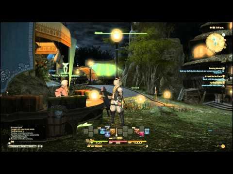 Final Fantasy XIV: A Realm Reborn Beta PS4