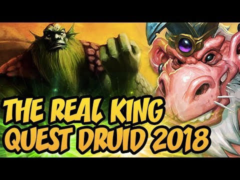 Hearthstone: The Real King | Wild Quest Druid 2018