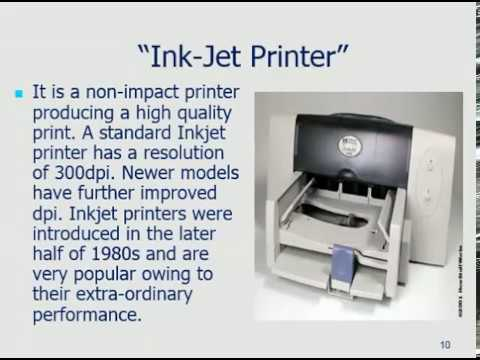 Printer Types and introduction