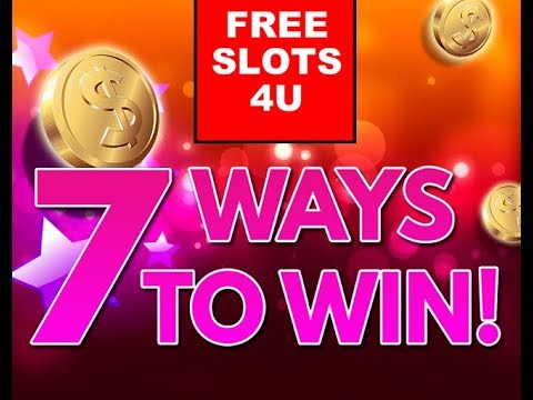 Win Cash Prizes - 7 Real Ways Playing Free Slots!