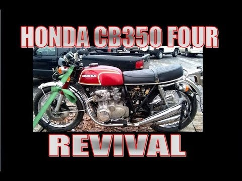 1972 Honda CB350F Revival