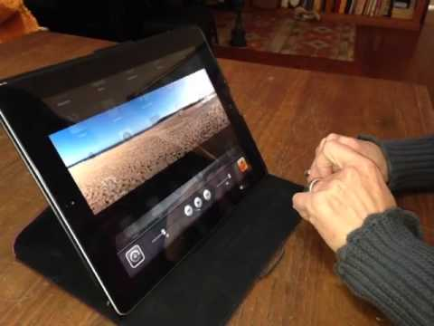 Stop the screen from changing on the iPad