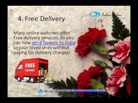 Send Flowers to India / Buy Flowers Online - indianbakers.com