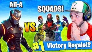 Ali-A - SOLO vs SQUADS in Fortnite: Battle Royale!