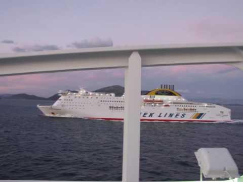trip from Venice-Italy  to Piraeus -Greece