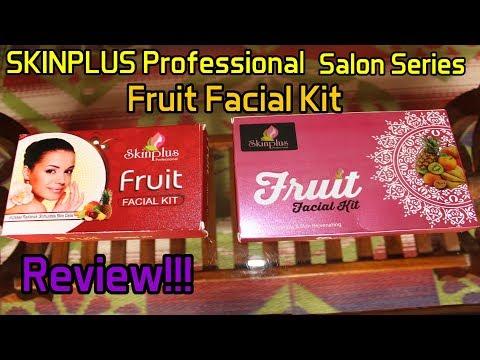 SKINPLUS Professional Salon Series Fruit Facial Kit | Review