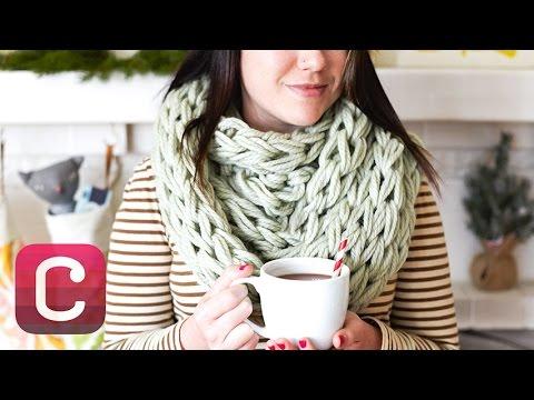 Arm Knit a Cowl with Anne Weil I Creativebug