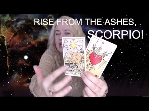 RISE FROM THE ASHES, SCORPIO! May 2017 Tarotscope