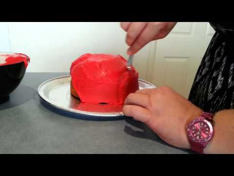 Easy DIY Cake Decor : Little lady beetle