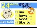 Download English Practice - I am, I have, I need, I was, I like to | Mark Kulek - ESL MP3,3GP,MP4