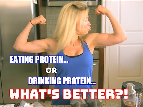Eating vs. Drinking Protein: What's Better For Building Muscle & Your Health