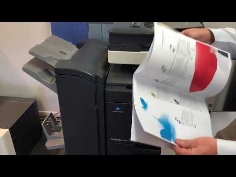 Konica Minolta C308 Booklet Printing