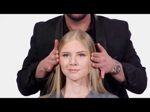 How to Smooth Hair - Sleek Shiny Hair - Goldwell Kerasilk Products - TheSalonGuy