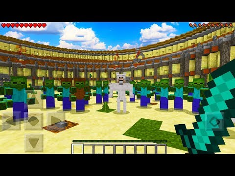 CAN YOU SURVIVE AGAINST THESE MUTANT MINECRAFT MOBS?!