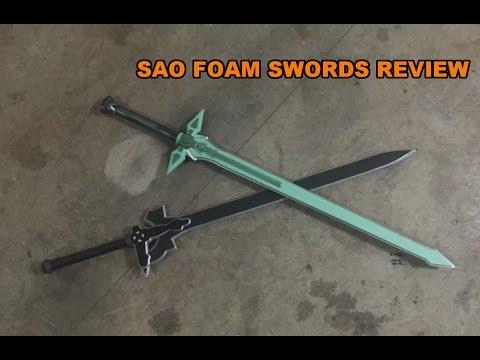 Sword Art Online Foam Swords Review