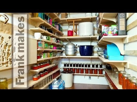 The Pantry Part 3: Shelves