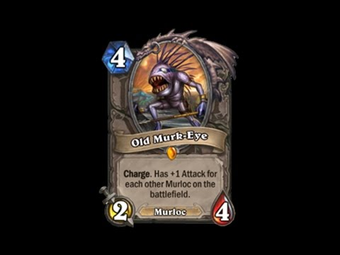 Hearthstone: How to get Old Murk Eye [Legendary Card]