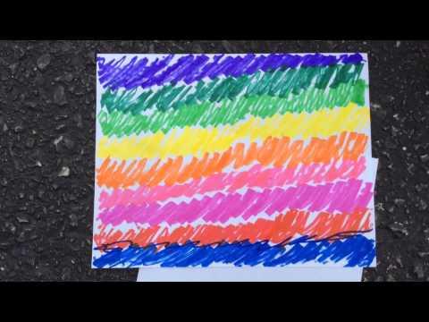 DIY Tie Dye Paper