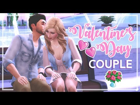The Sims 4 - Valentine's Day Couple CAS