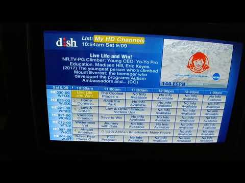 Dish Network 121w + 129w ... America's Top200+MultiSport Pack + only HD Chans from CR