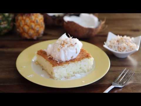 How to Make Pineapple Angel Food Cake   Cake Recipes   Allrecipes.com