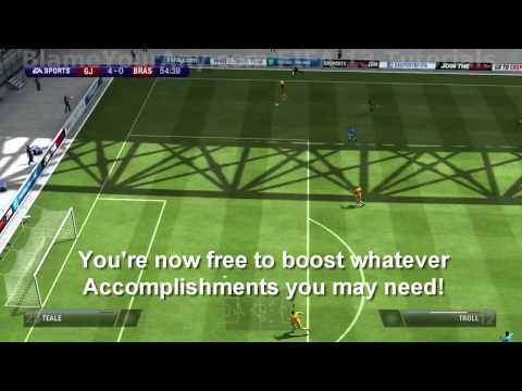 FIFA 13 How to Boost Accomplishments (Online Pro)
