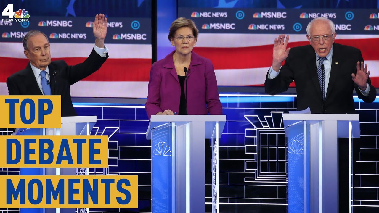 The Top Moments from the Las Vegas Democratic Debate | NBC New York