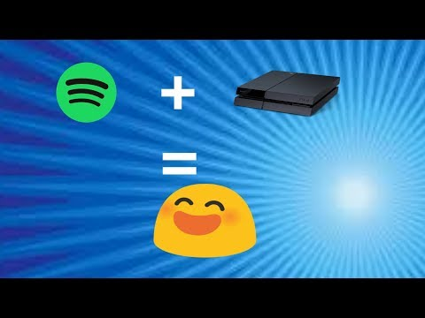 HOW TO USE IPHONE, LAPTOP, OR TABLET TO LISTEN TO SPOTIFY ON PS4