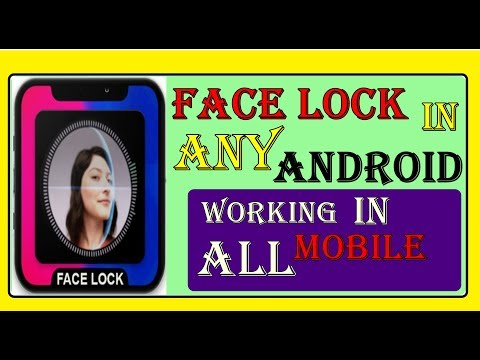 How to get Face lock in any android