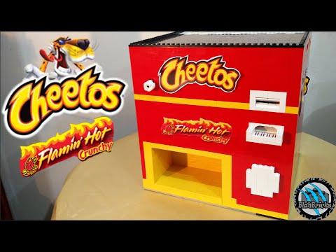 Lego Crunchy Cheetos Chips Machine | Flamin' Hot Cheetos