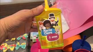 PREPARATIVOS DE FESTA MUNDO BITA/ MARIA CLARA 2ANOS