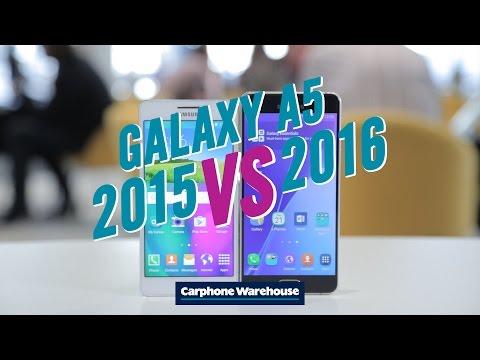 Samsung Galaxy A5 2015 vs 2016