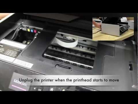 Printhead Cannot Move Error on S315/S415/S515 Printers