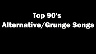 Download Top 90's Alternative Grunge and Rock Songs Video