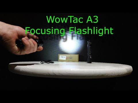 The new Wowtac A3 Adjustable Focus Flashlight