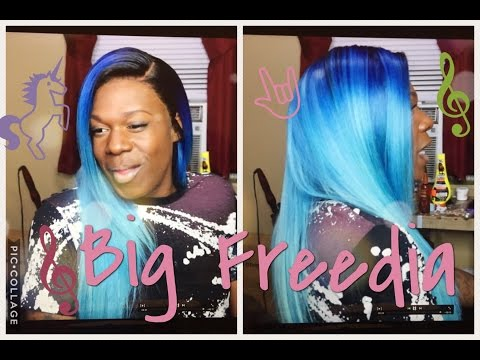 How to | Unicorn Pastel Blue | Ondibu Hair | ItsMiddy