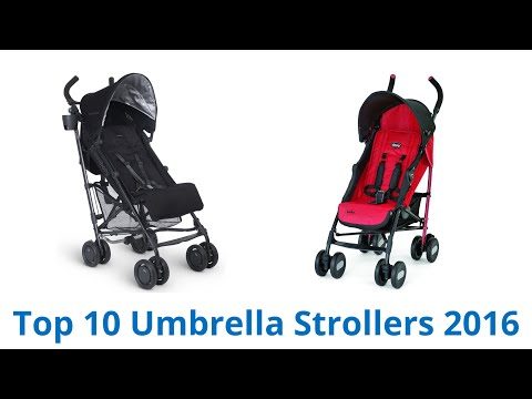 10 Best Umbrella Strollers 2016