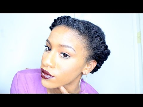 BEGINNER FRIENDLY How To Flat Twist Natural Hair