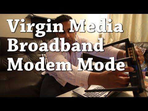 Virgin Media Broadband  Modem mode