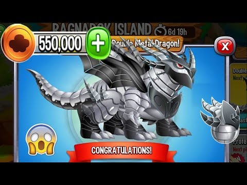 Dragon City - Double Metal Dragon [Ragnarok Island | Completed 2018]