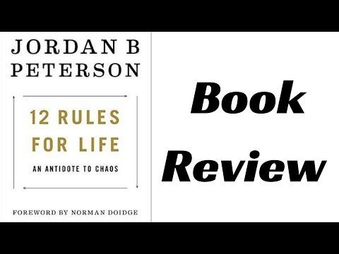 Jordan Peterson - 12 Rules For Life Book Review