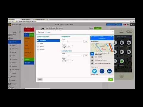 HTML5 Web App Teaser