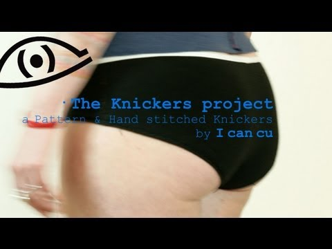 The Knickers project - a simple sewing project with a pattern