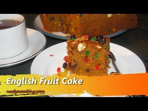 Resep dan Cara Membuat Kue Bolu English Fruit Cake