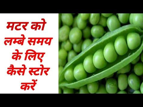 हरे मटर को स्टोर करें साल भर के लिए || Frozen Peas||  Peas Storage Ideas by Sana's Rasoi