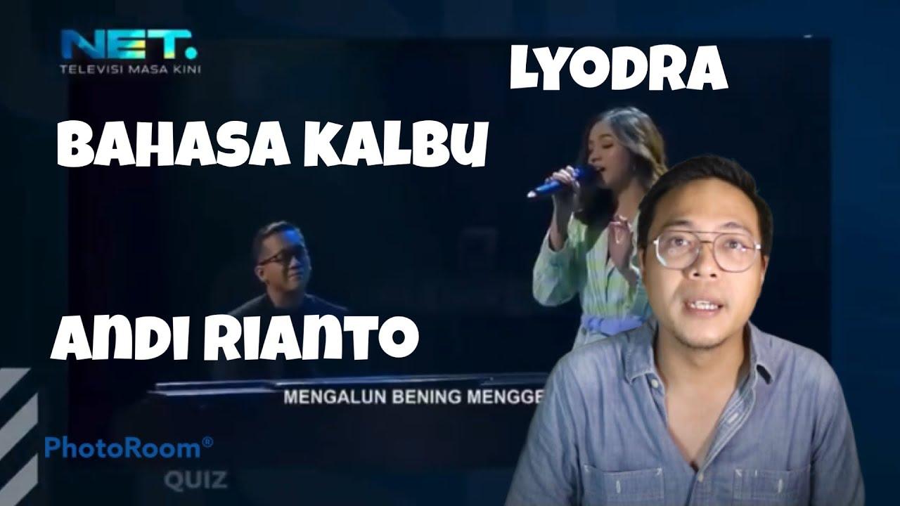 Download LYODRA FEAT ANDI RIANTO BAHASA KALBU KALONG SHOW REACTION MP3 Gratis