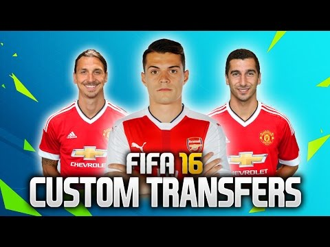 HOW TO MAKE CUSTOM TRANSFERS IN CAREER MODE! (Edit Teams & Players)