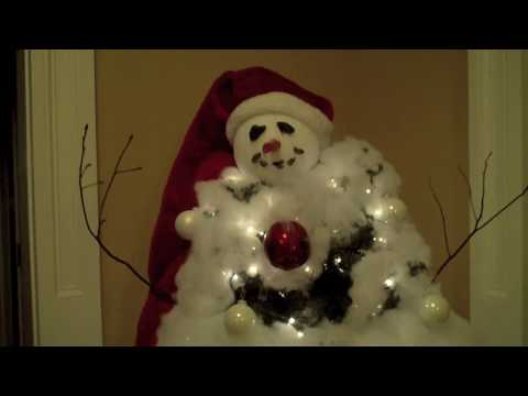 Steve's Snowman Christmas Tree